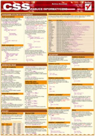Tablice informatyczne. CSS
