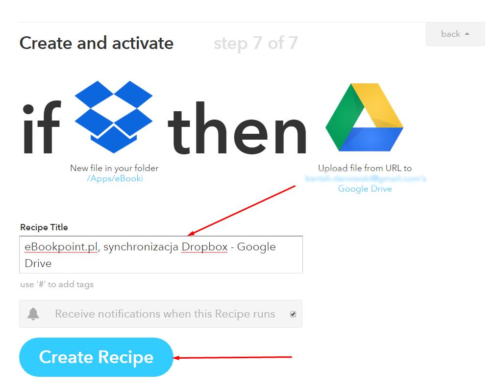 Synchronizacja ebookpoint.pl z Google Drive, OneDrive oraz Box - krok 15