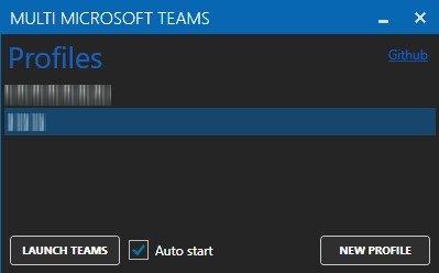Multi MS Teams